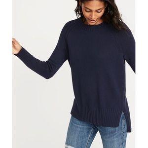 Old Navy Rib-Knit Trim Crew Neck Sweater NWT